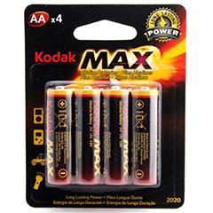 Kodak Max 2A-4P Alk Battery
