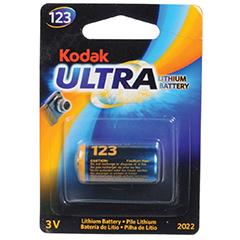 Kodak Ultra K123LA Lithium Battery