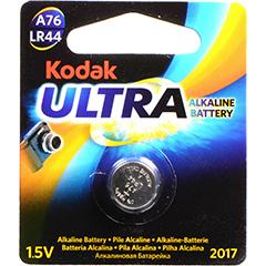 Kodak Ultra A76/LR44 Cell Lithium Battery
